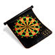 Wholesale price 44*37cm square custom magnetic dartboard set
