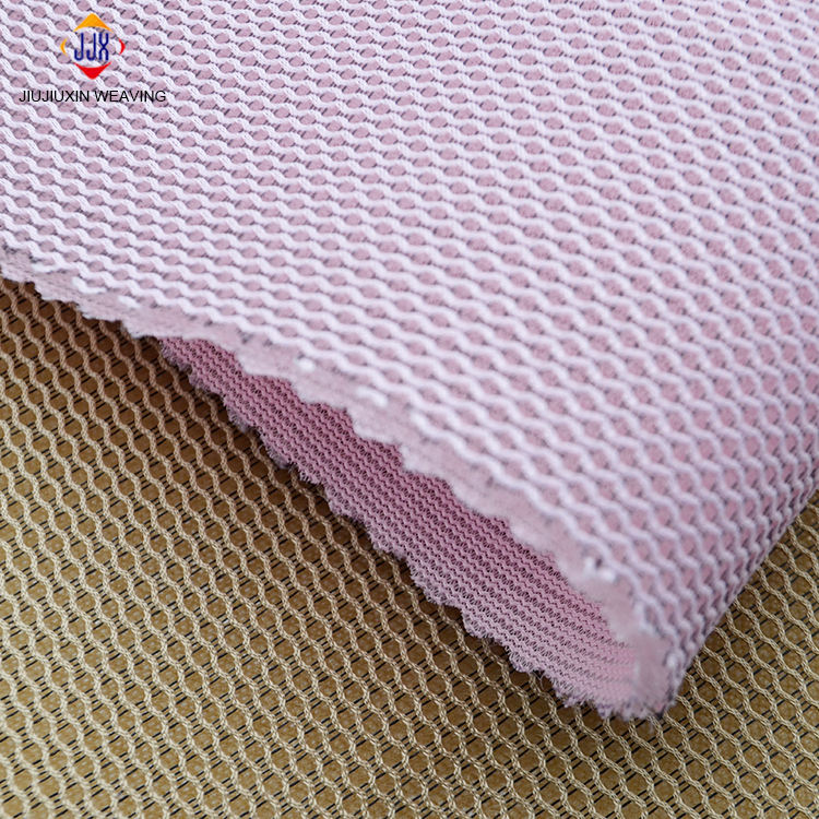 High density eco friendly broad width 3d air mesh fabric for car curtain dress