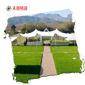 waterproof fireproof 200 pax stretch tent wedding party/tent stretch/marquee tent stretch low price from factory