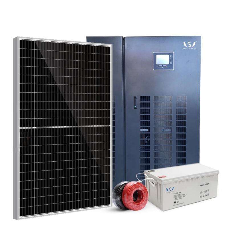 30kw <span class=keywords><strong>50kw</strong></span> 100kw <span class=keywords><strong>commerciale</strong></span> off grid pv sistema solare off-grid solar inverter sistema