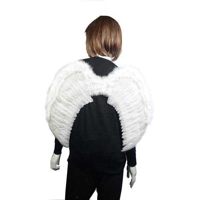 Fashion Feather Wings Angel Fairy Fancy Dress Costume Halloween Party Favor J/&C