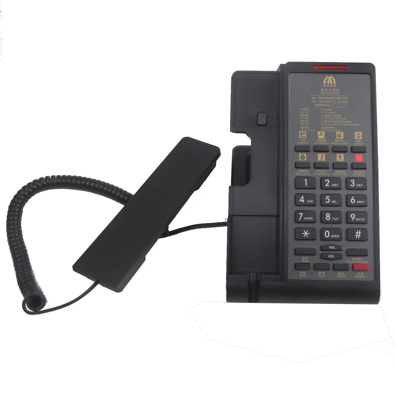 Luxury Hotel Phone Small Landline Hospitality Fixed Telephone For Sale