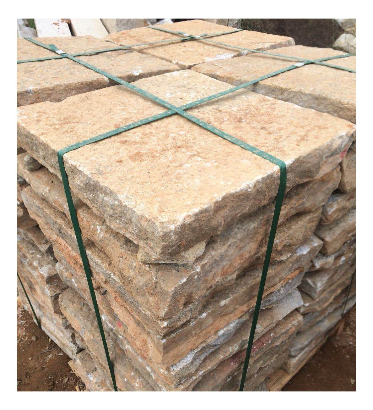 Antique Old Reclaimed Granite Flagstone Paving Stone
