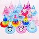 Cheap cute unicon birthday party supplies decorations hat china wholesale