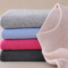 New Wool Pure Cashmere Sweater Women Pullovers Long Sleeve Pull Femme Half Turtleneck Soft Tops Woman Sweaters Pullovers Sweater