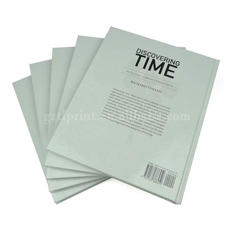 Packaging Customization Book Printing Glossy Lamination High Quality Hardcover Case Bound Photo Book Printing Service