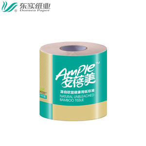 China Factory wholesale high quality Recycled 100% virgin bamboo/wood pulp toilet paper tissue toilet tissue roll multiple ply