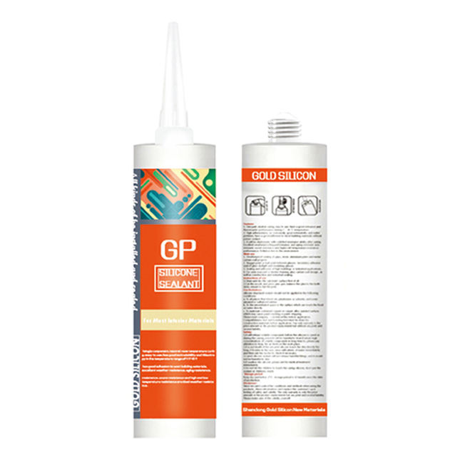 Silicone Sealant Tahan Air GP RTV Acetic Cure Silikon Sealant