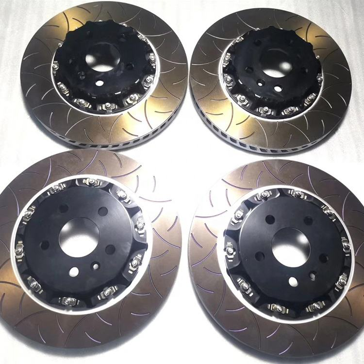 Customized performance car brake disc rotor for Tesla model s