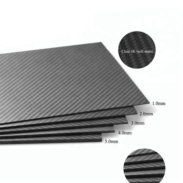 Hitex 1MM 2MM 3MM 3K Carbon Fiber Sheet