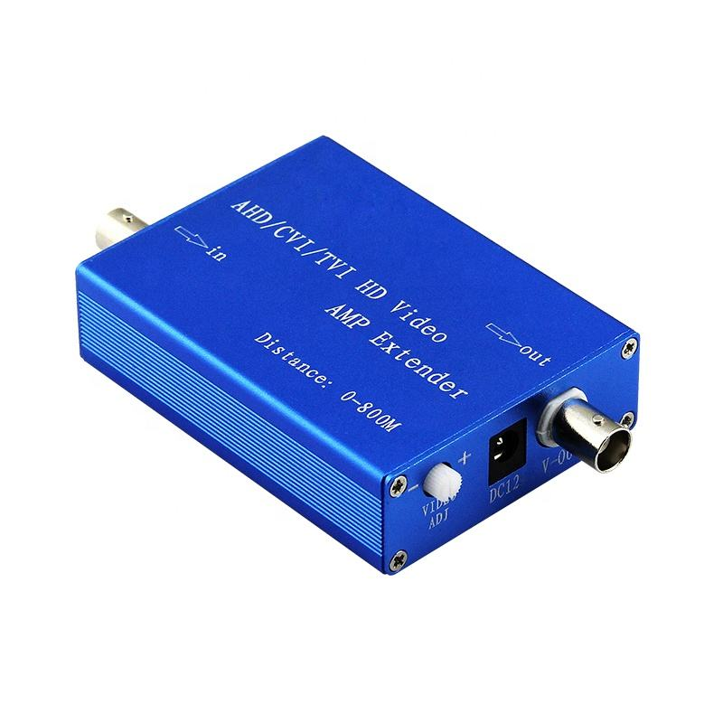 1 port ahd 1080p video extender coaxial cable amplifier, cctv video distribution amplifier