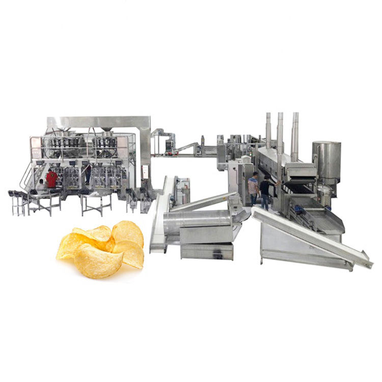 China Automatische Professionele Verse Chips Making Machine Prijs