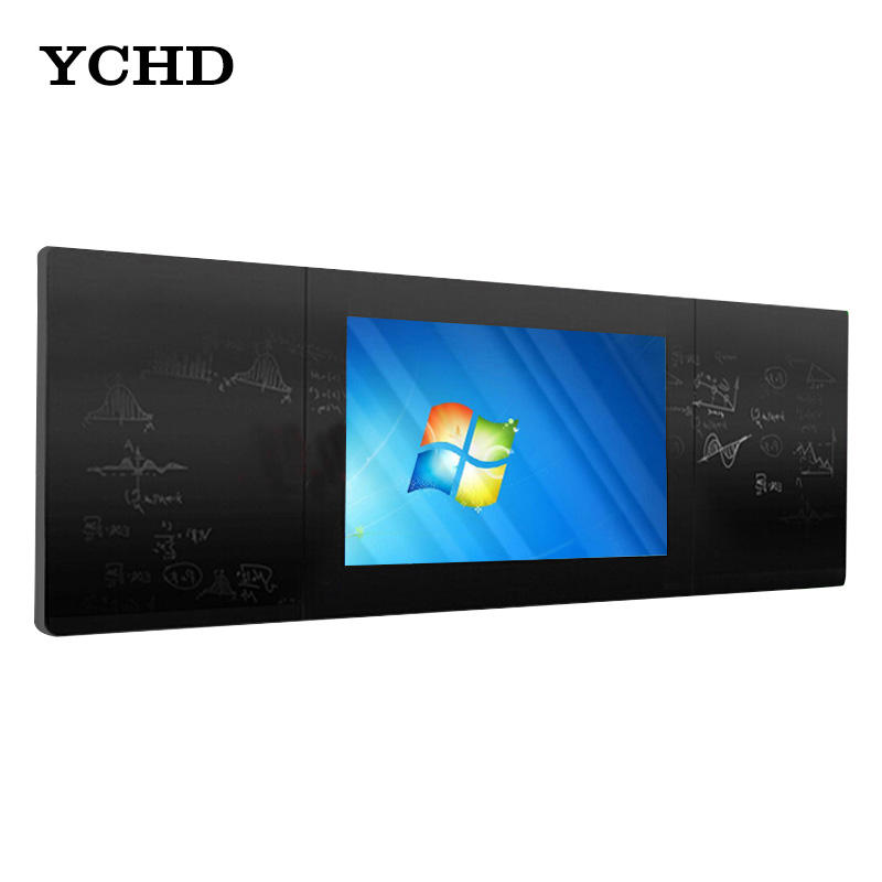 touch screen flat panel with traditional blackboard write in finger or chalk