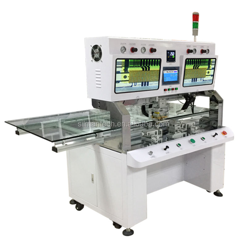 TV lcd repair bonding machine tab cof bonding machine with 3 cameras