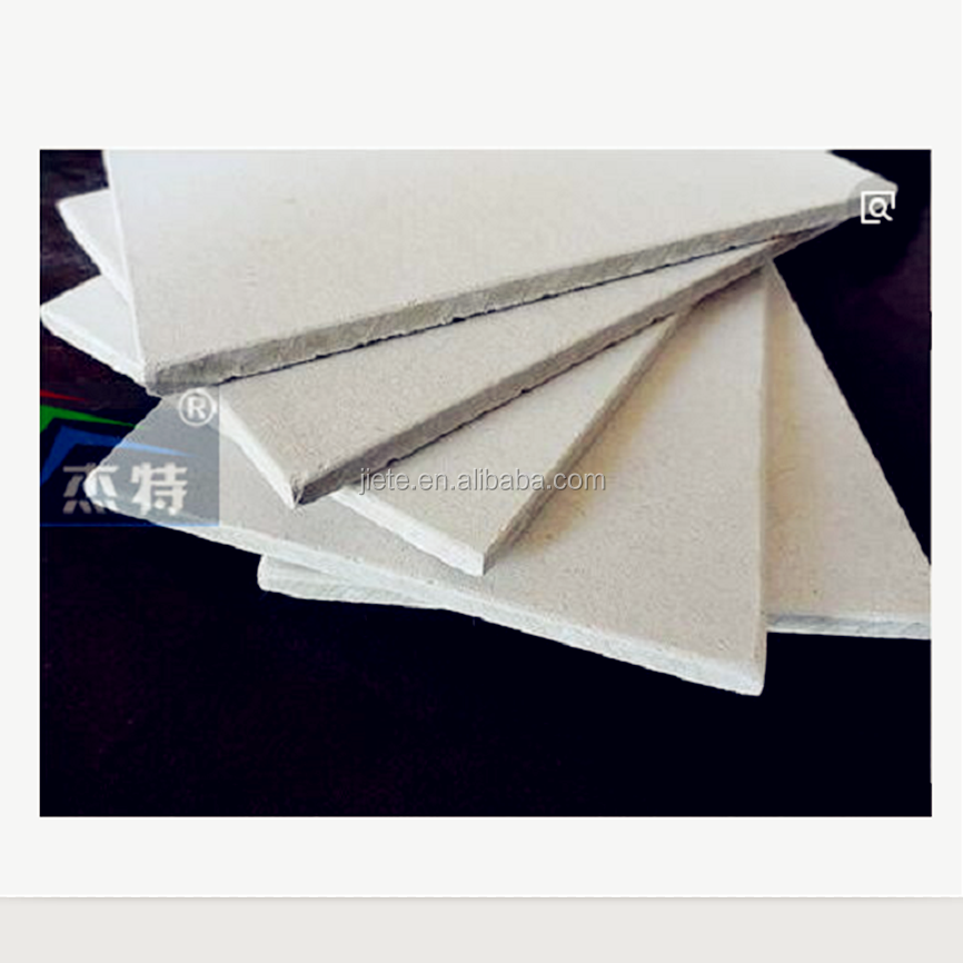 Thickness 4mm 5mm 6mm 8mm 9mm 10mm 12mm Ceiling Decorative Tile and Wall Partition Panel Calcium Silicate Board Size 8*4 Feet