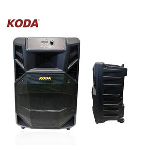 18 Inci Trolley Speaker Big Power dengan Aux DI/USB/FM/BT Subwoofer