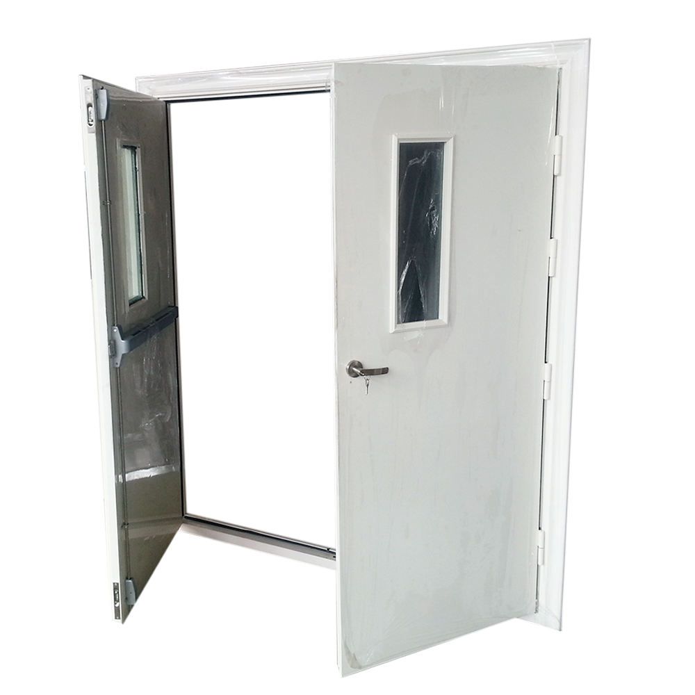 Strong performance 2019 high quality used commercial metal steel fire proof door with wholesale price