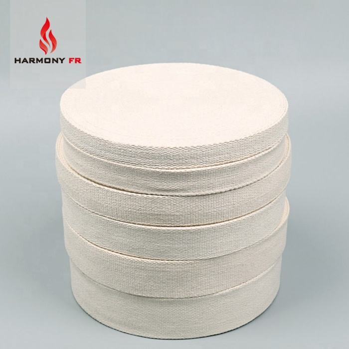 Custom Modacrylic Cotton Tape Flame Retardant Webbing