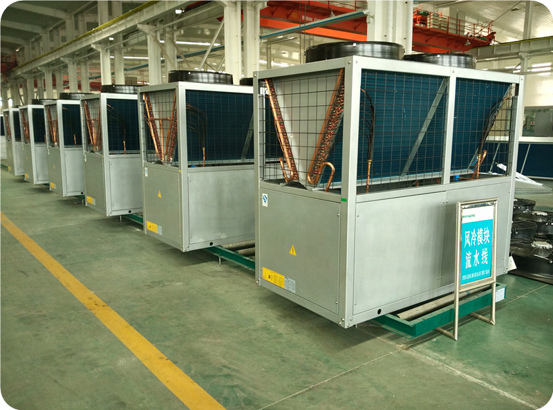 68KW Cooling System Industrial Air Cooled Water Chiller