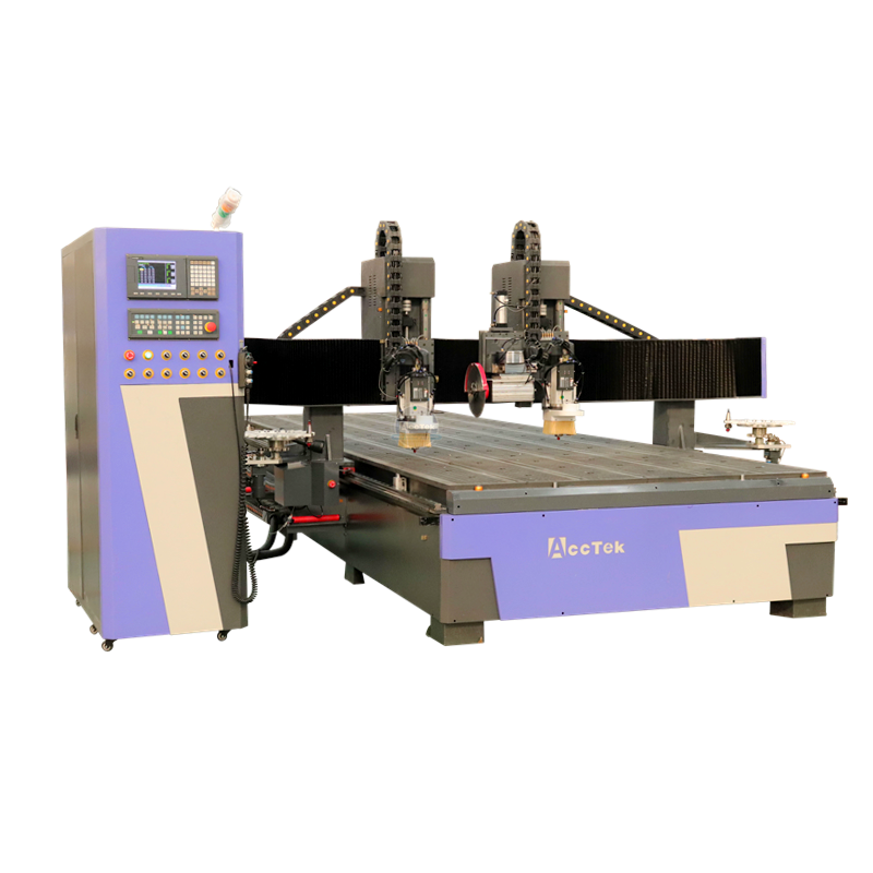 Large Size Woodworking Cnc Router 2060 Aluminum Servo Big Cnc Router Machine With 6000 × 2000 For Metal