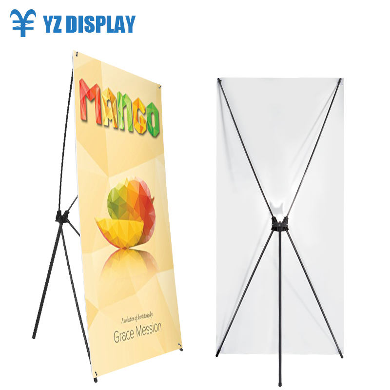 Wooden X Digital Pvc Flex Banner Wedding Backdrop Stand