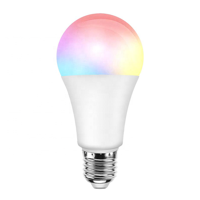 Alexa Google Intelligent LED Light Bulb Wifi 9W RGB+CW+WW For Smart Home Tuya APP Phone Control