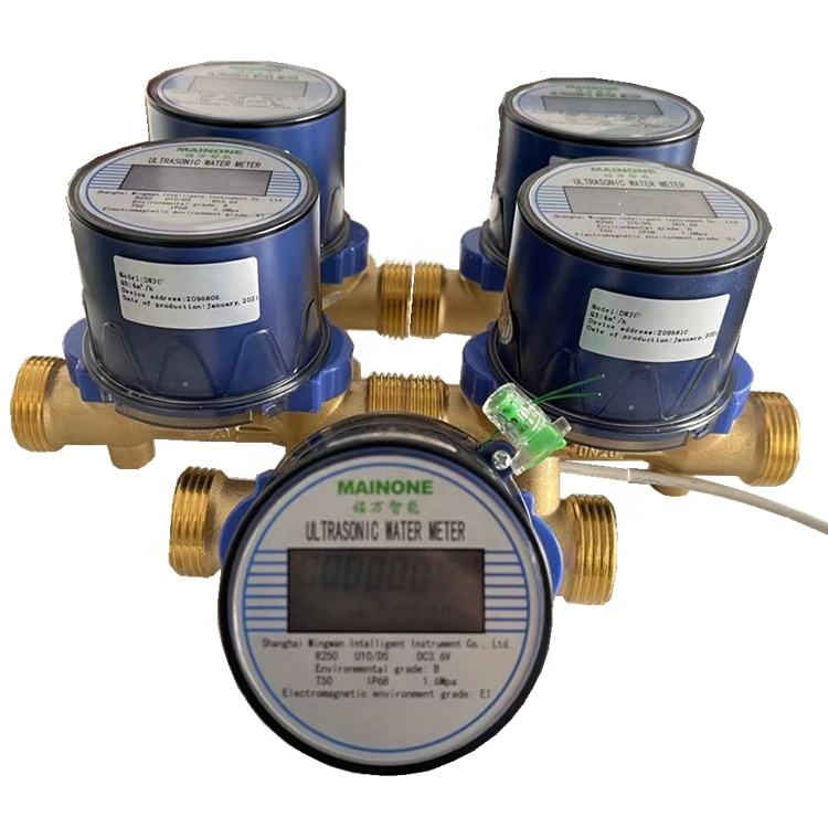 China Ultrasone Smart Water Meter Fabrikant Groothandel En Retail Digitale Water Meter 20Mm Mbus, Rs485modbus Protocol
