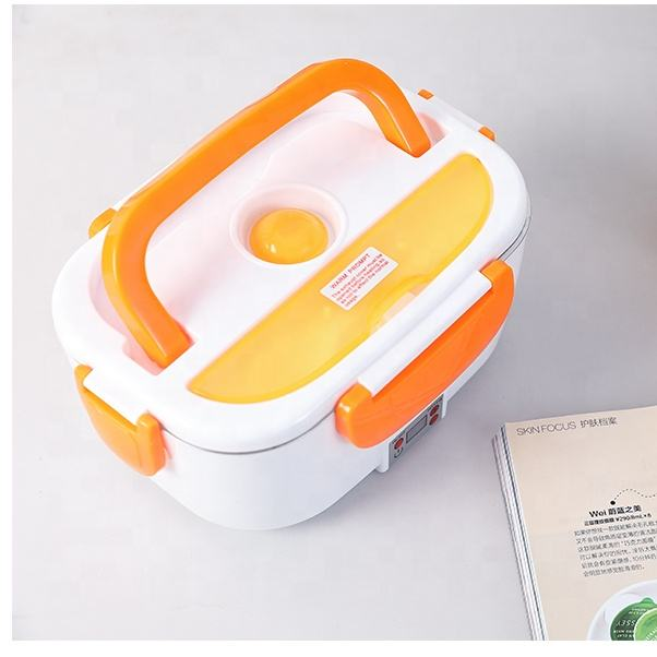 Car Portable Bento Toddler Picnic Lunch 12-24v Heating Up Upgraded Silicone Electric Container Food Box