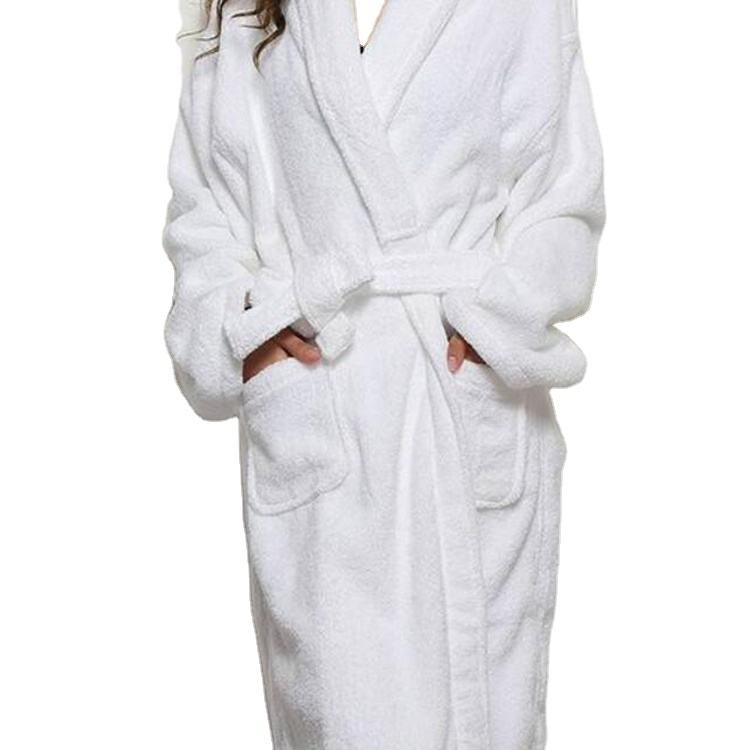 Five star hotel Unisex luxury Terry/Velour bathrobe breathe freely bath robe