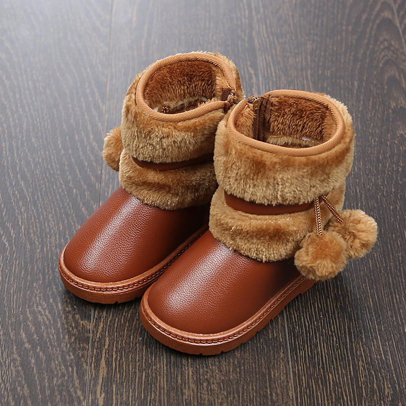 2020 TPR waterproof casual shoes for kid baby girl and boy winter snow boots