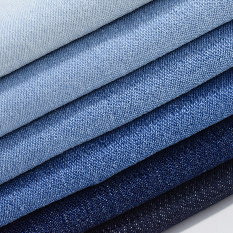 Factory price washed twill woven 100% cotton 10S 10oz denim fabric for jeans