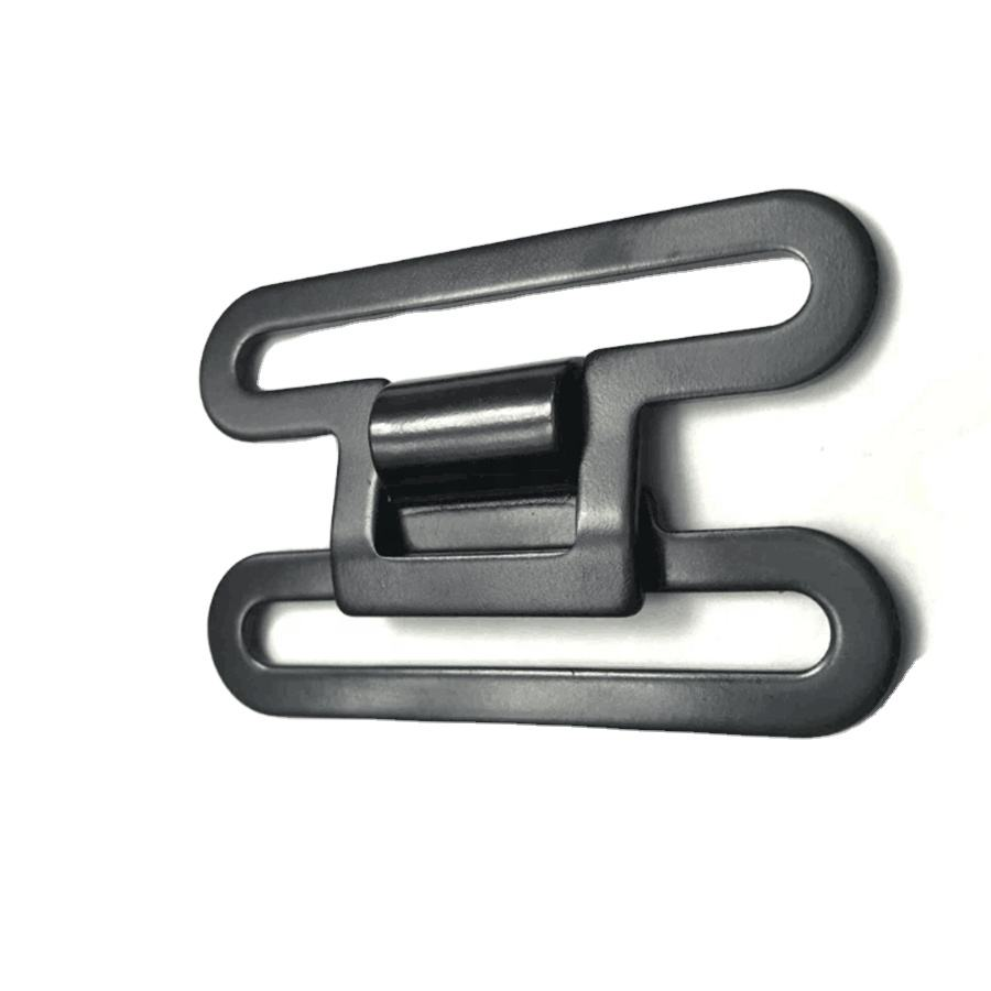 Custom Zinc Alloy Or Iron Material Belt Clasp Buckles Personalized Joint Metal Insert Tactical Belt Buckle Parts