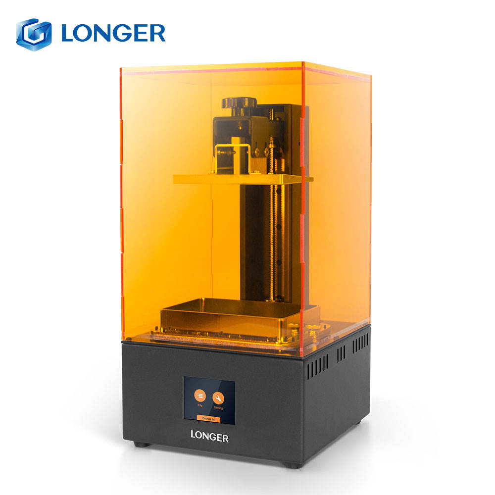 Longer Orange 30 Printer 3D Resin Fast Slicer Fast Cooling 3d printer uv resin curing light LCD 3d printer