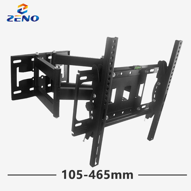 1042B TV Wall Mount bracket with Swivel Support, 465mm Extension Arm Fits 32 42 46 47 50 55 LCD LED Display up to 400x400