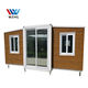 Muti-fucntion container homes with curved island portable office house isolation container rooms house design plan America