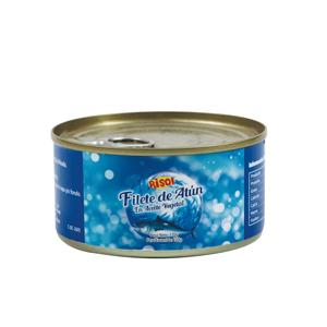 Canned tuna light เนื้อ skipjack chunk 170g
