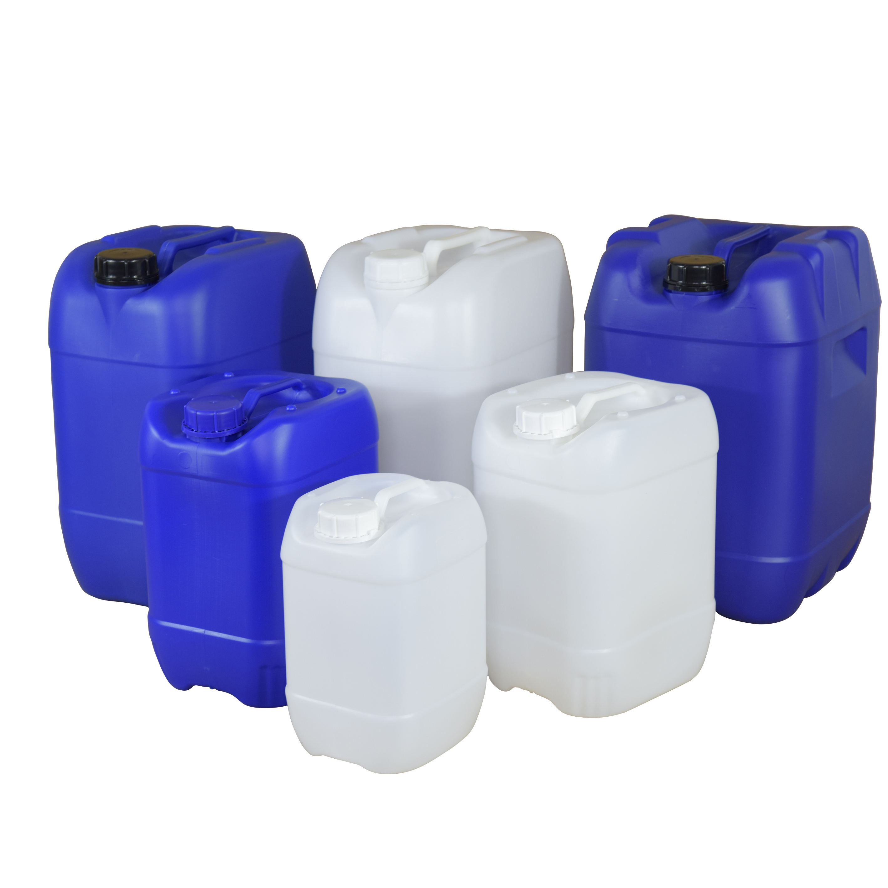 Stackable HDPE Barrel Plastic 20L Oil Plastic Drums Jerry Can For Sale With Tamper Evident
