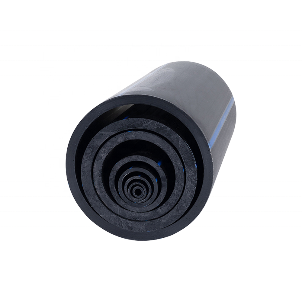 HDPE Polyethylene Pipes 160mm Black PE100 SDR 17 for Water Supply