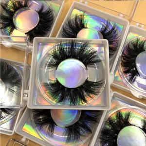 Mikiwi Wholesale 5D Mink Lashes Dramatic Lashes Private label Square box lashes