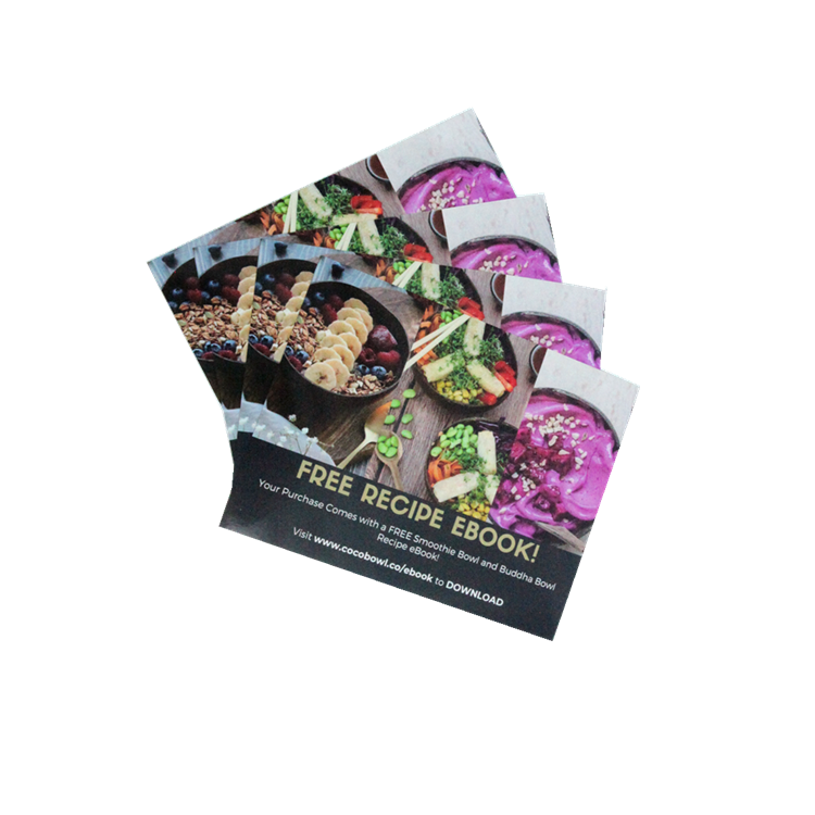 2020 Manufacture high quality custom design Folded Full-Color Flyer Printing