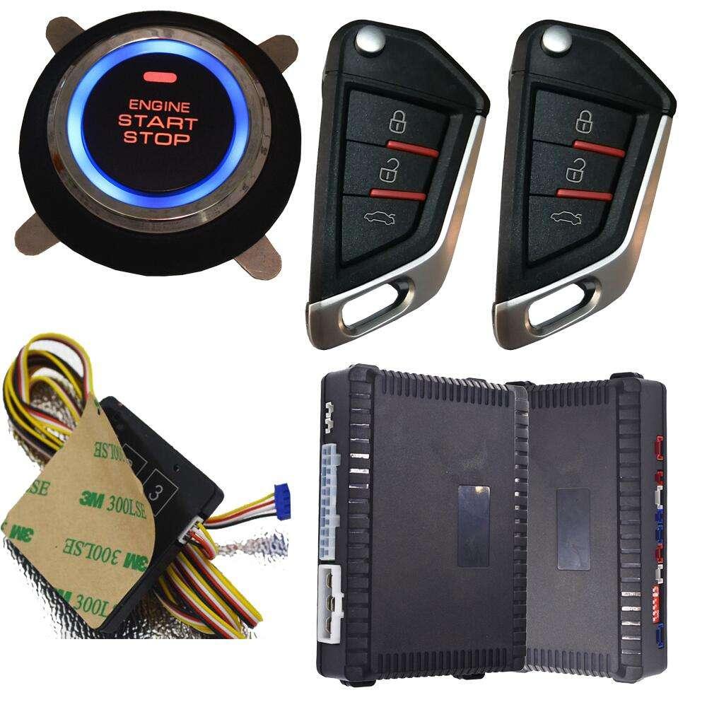 Anti-Secuestro arrancador remoto sin llave a Botón de coche sistema de <span class=keywords><strong>alarma</strong></span>