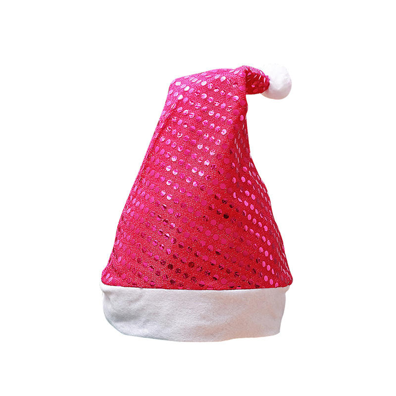 Hot Sale Amazon Kustom Lucu Menari Natal Payet Topi