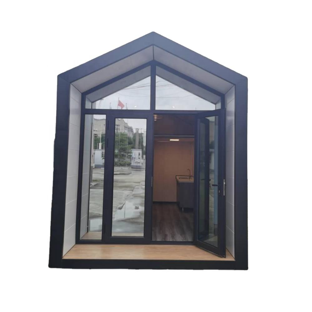 Modern Style Eco steel frame villa Customized eco-friendly light weight mansion prefabricated