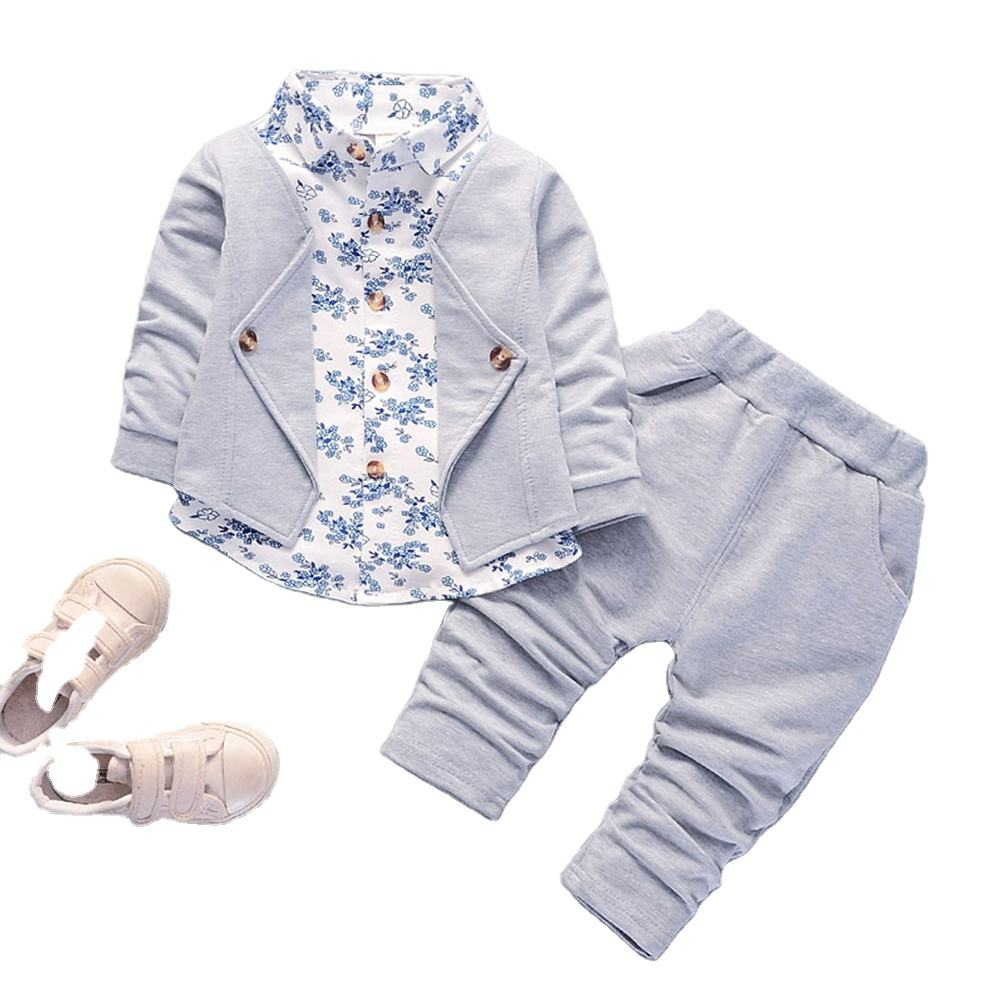 Low price new style kids tracksuit children slim fit sweatsuit jogging suit for sale