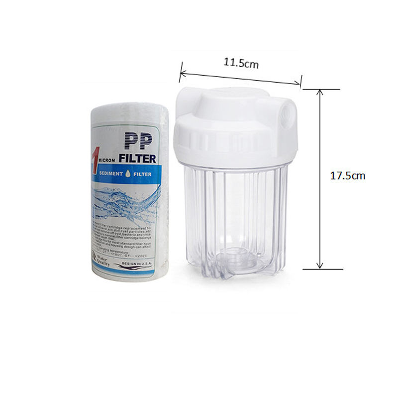 5 inch water filter behuizing water filter behuizing