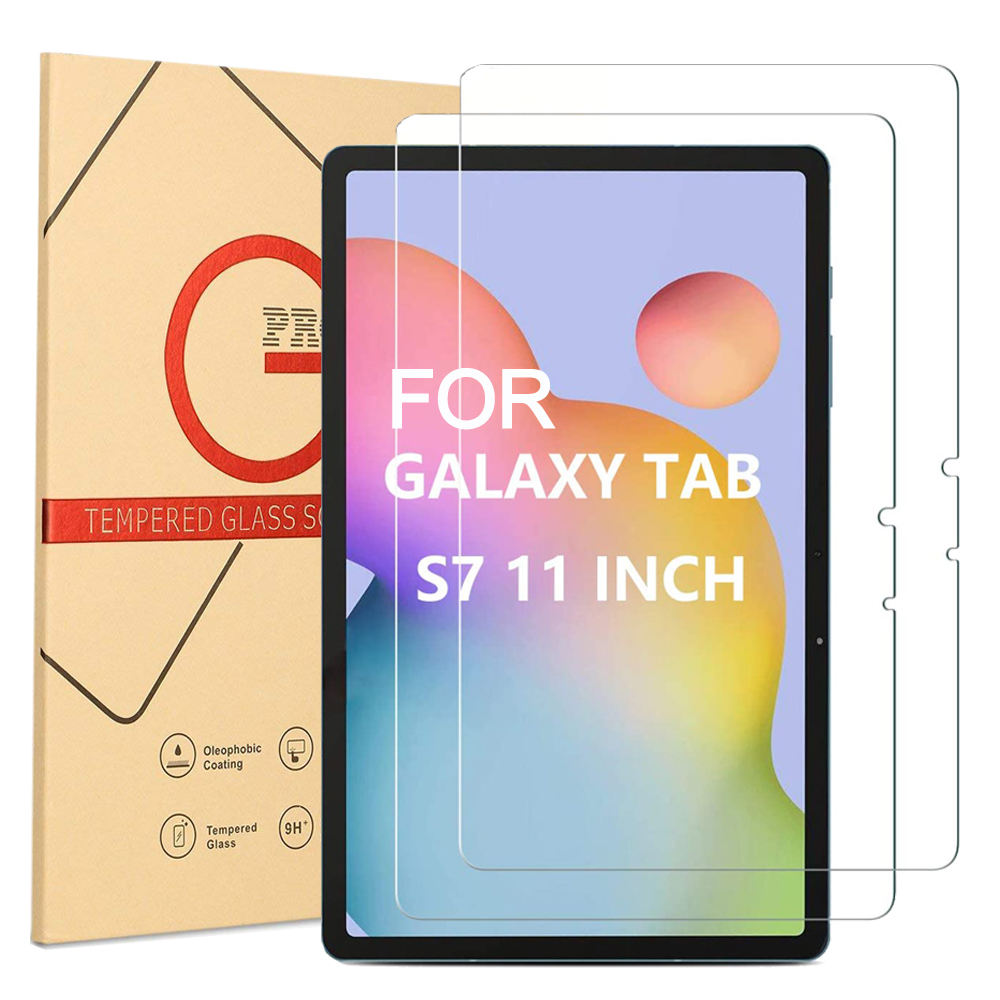 2021 tablet Tempered Glass Screen Protector for Samsung Galaxy Tab S7 11 inch S7+ 12.4inch