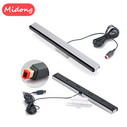 Game Accessories Infrared Ray Wired Sensor Bar for Wii Console