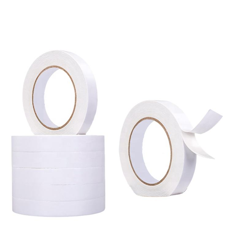 Wholesale Waterproof Hot Melt Double Sided Tissue Adhesive Tape Solvent Based Double Face Acrylic Foam Tape