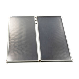 Laser welding blue tinox flat plate solar collector