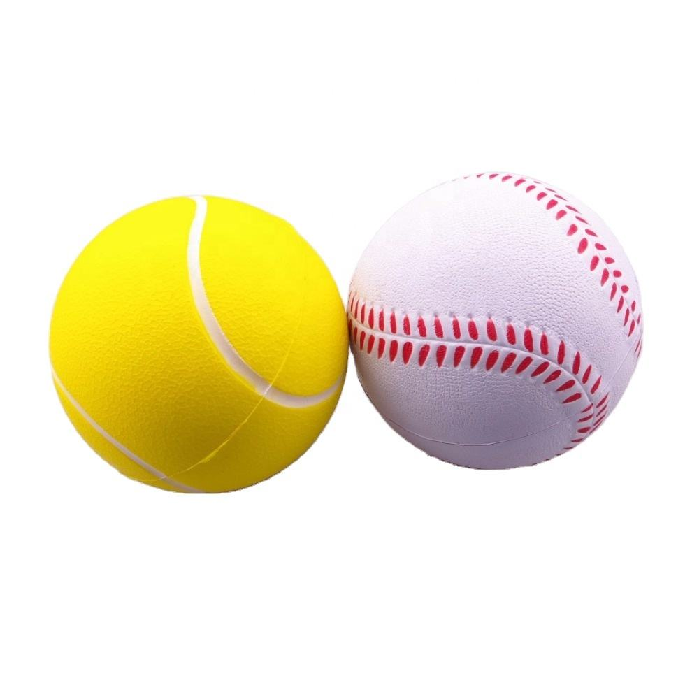 Eco friendly custom stress ball tennis anti stress ball with custom logo